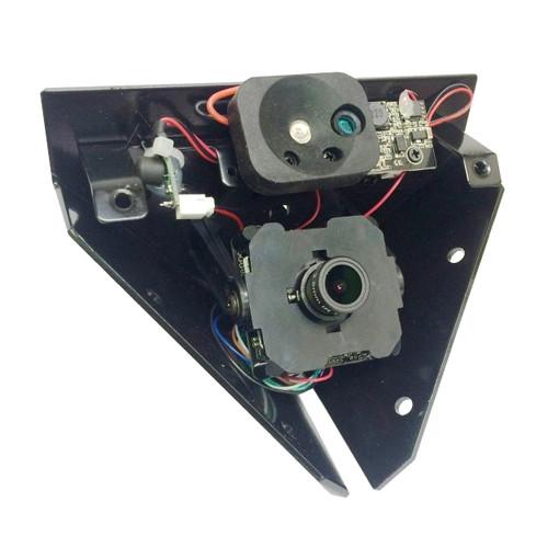 2MP 4-IN-1 TVI-CVI-AHD and CVBS 2.8mm Corner Mount Camera
