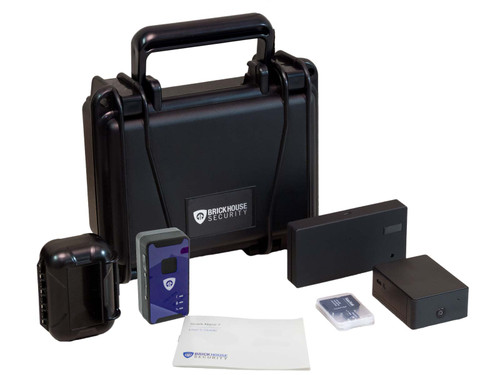 Remote GPS and Hidden Camera Retail Loss Prevention Kit