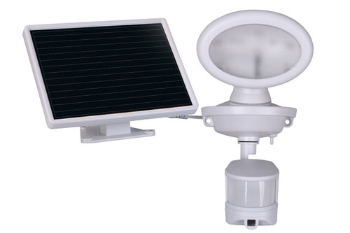 Solar-Powered Video Camera and Spotlight