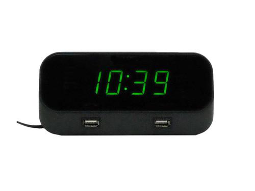 4k WiFi Alarm Clock Hidden Camera