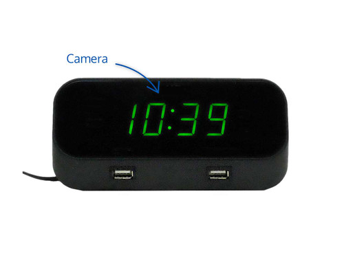 4k WiFi Alarm Clock Hidden Camera