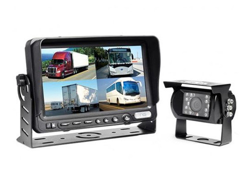 Car Camera System with Built-In DVR