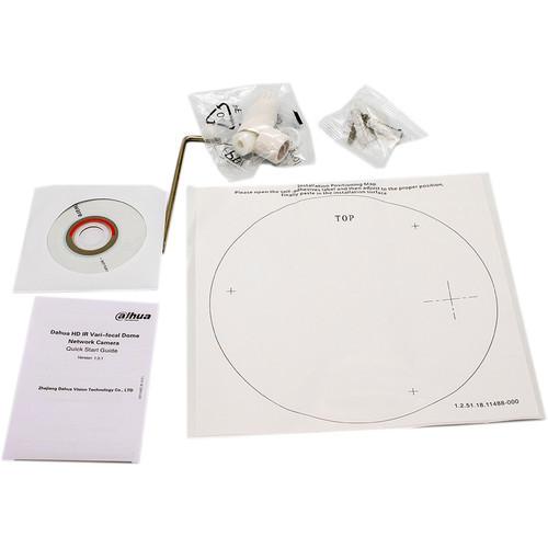 2MP IR Varifocal ePoE Dome Camera