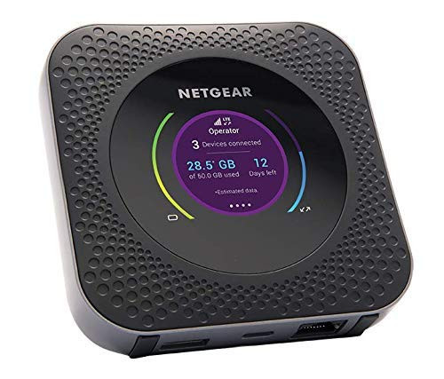 Nighthawk M1 Mobile Router w/B-Link Secure 4G Cellular Services