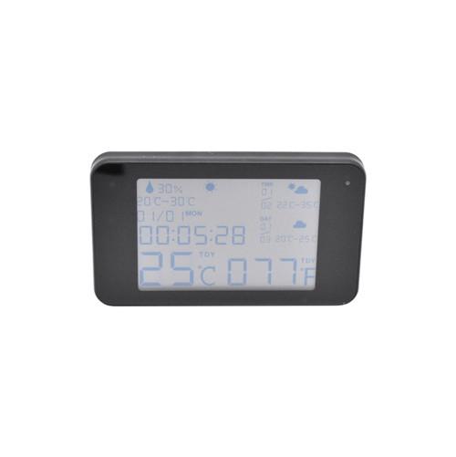 HD 1080P WiFi Weather Hidden Camera Clock