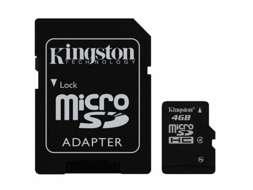 4GB Micro SD card with Adapter