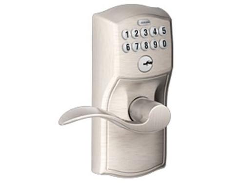 Wireless Keypad Lever Door Lock