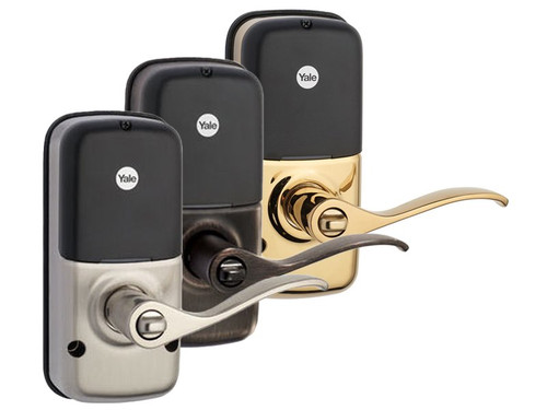Yale Z-Wave Lever Lock Push Button Pad