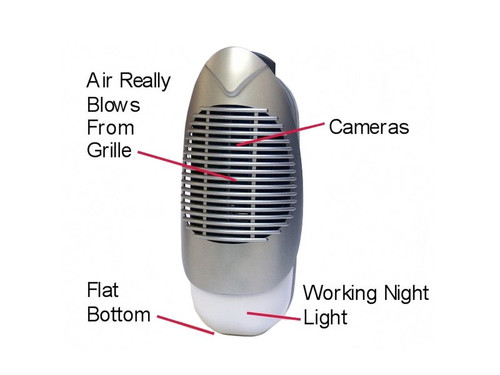 Air Ionizer Hidden Camera