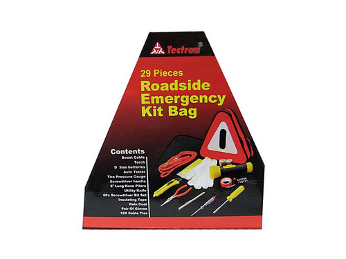 29 Piece Roadside Auto Kit
