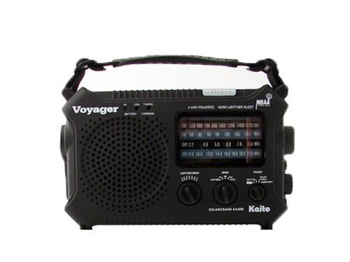 The Voyager - Solar AM/FM Radio