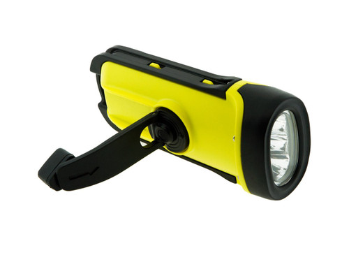 Secur SP-1001 Waterproof Dynamo LED Flashlight