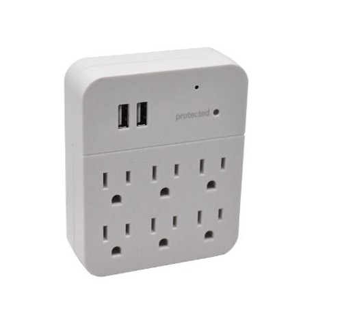 BB 6-Outlet and USB WiFi Hidden Camera