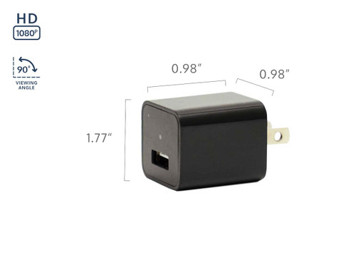 Mini Phone Charger Hidden Camera