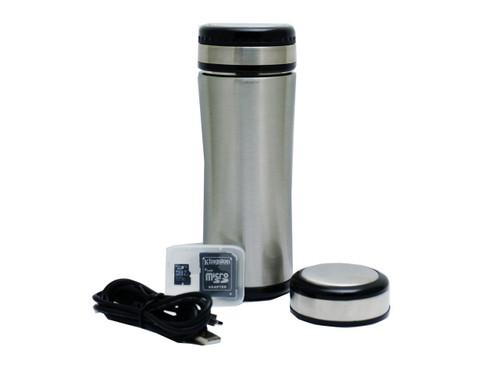 Coffee Thermos Hidden Camera