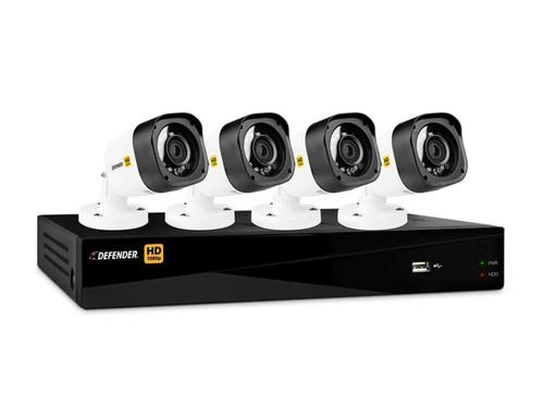 Defender 4 Channel DVR with 4 Bullet Cameras