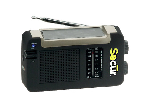 Secur SP-2001 Hybrid Power Radio