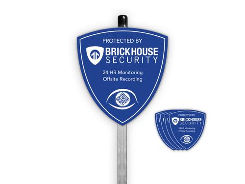 BrickHouse Security Eye Yard Sign Package