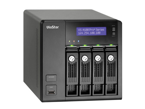 QNAP 4-Bay 8CH NVR with Built-In VMS