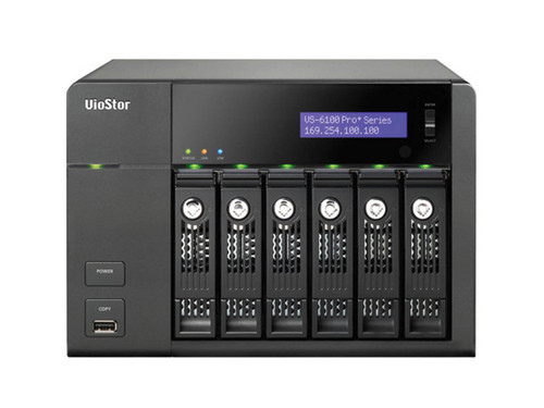 QNAP 6-Bay 20CH NVR with Built-In VMS