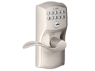 Wireless Keypad Lever Door Lock