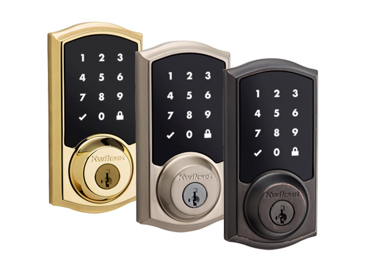 Kwikset 916 Touchscreen Electronic Deadbolt