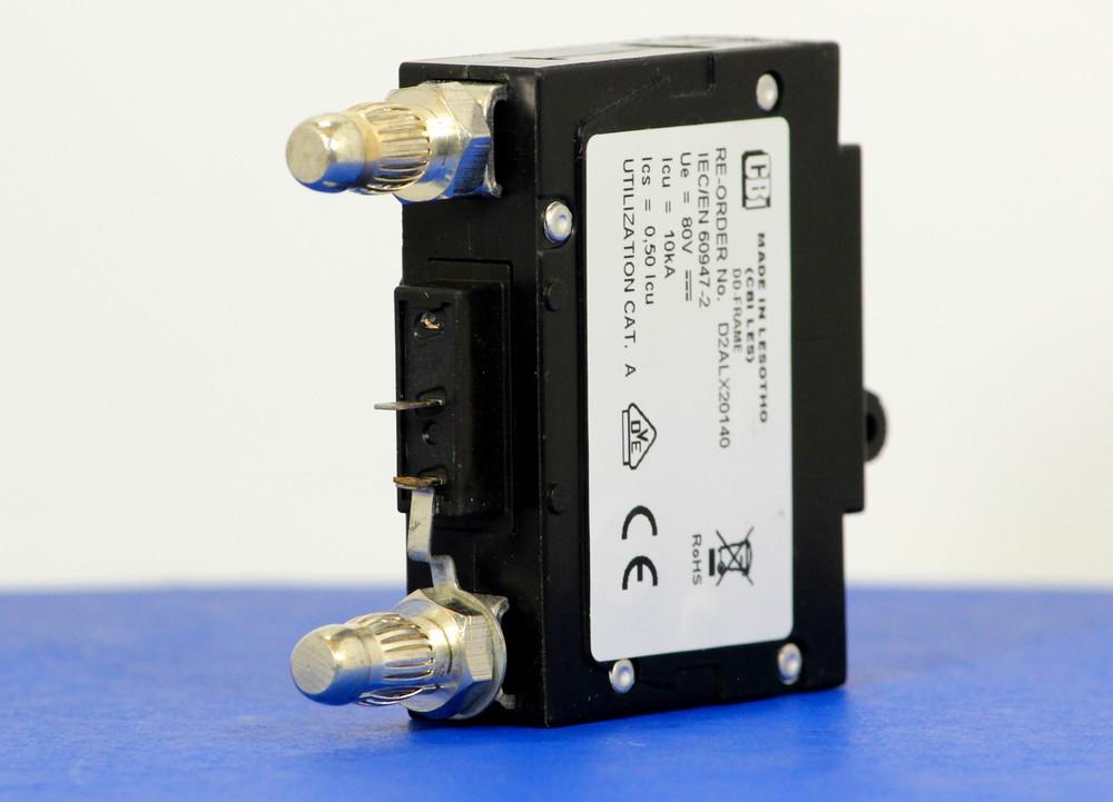 D2ALX20140 (1 Pole, 90A, 80VDC, Plug-In Terminals, Series Mid-Trip w/alarm, UL Listed (UL 489))