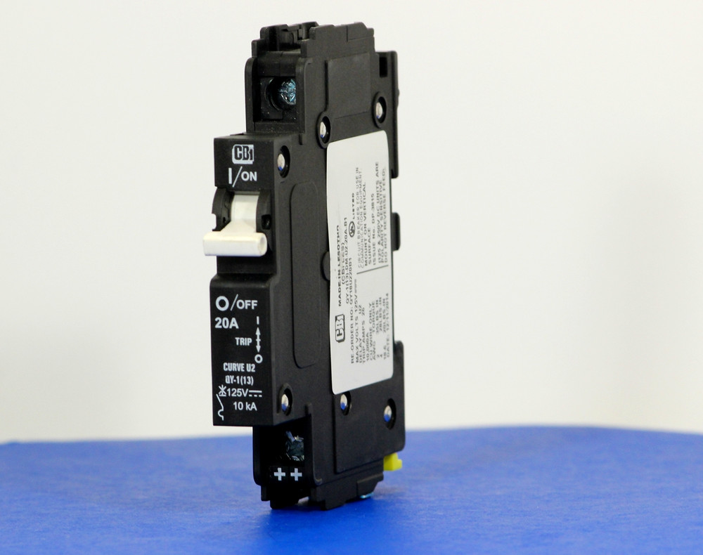 QY18U220B1 (1 Pole, 20A, 125VDC, UL Listed (UL 489))