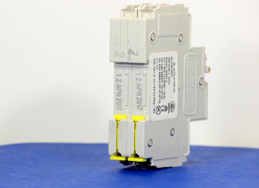 QLD28KM02 (2 Pole, 2A, 120/240VAC; 240VAC, UL Listed (UL 489))
