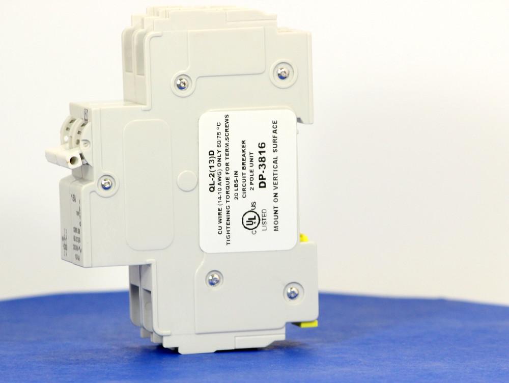 QLD28KM15 (2 Pole, 15A, 120/240VAC; 240VAC, UL Listed (UL 489))