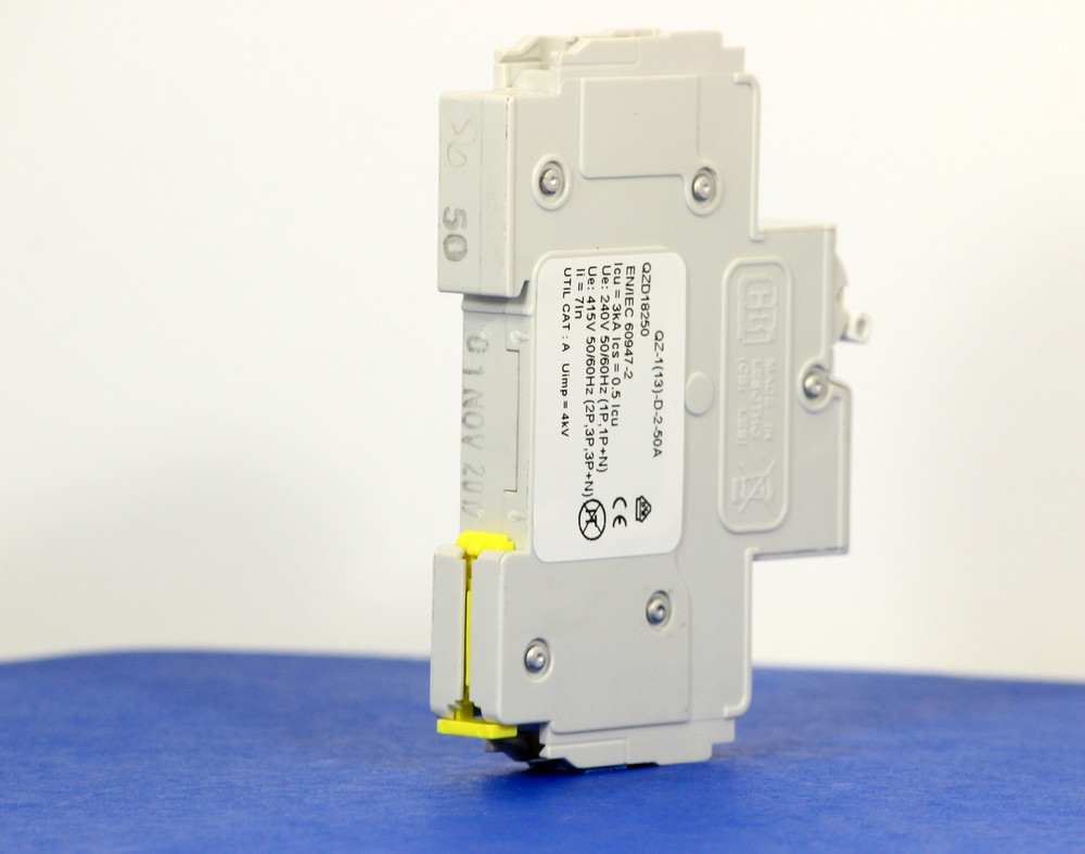 QZD18250 (1 Pole, 50A, 277VAC, UL Recognized (UL 1077))
