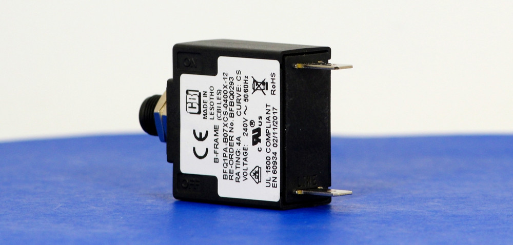 BFBQ0293 (1 Pole, 4A, 240VAC, Quick Connect, Series Trip, UL Recognized (UL 1077))