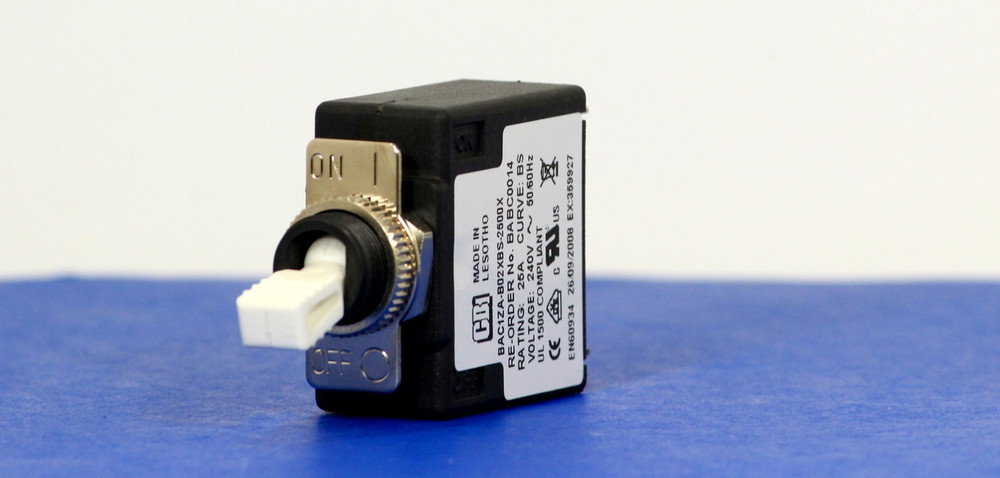 BABC0014 (1 Pole, 25A, 120VAC, Quick Connect, Series Trip, UL Recognized (UL 1077))