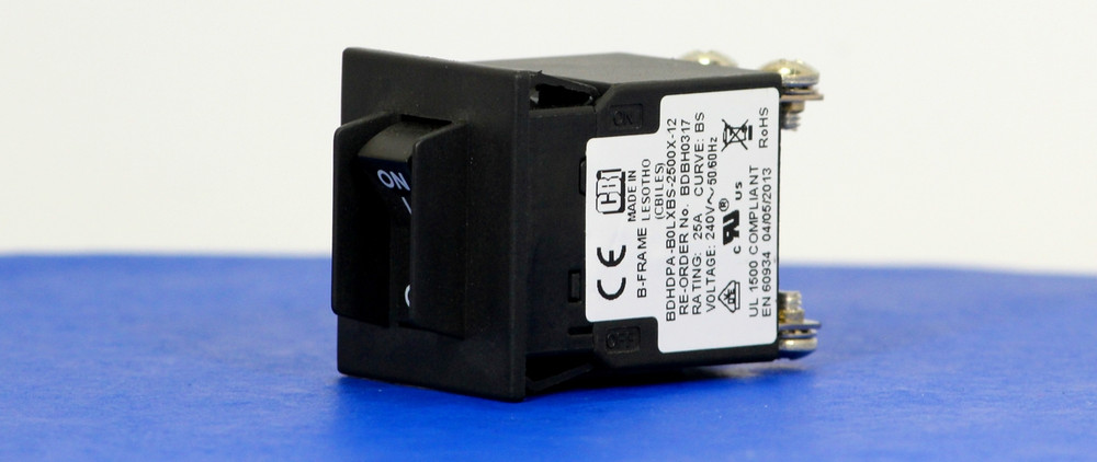 BDBH0317 (2 Pole, 25A, 240VAC, Screw Terminal, Series Trip, UL Recognized (UL 1077))