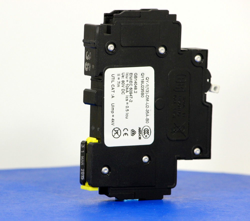 QY18U235B0 (1 Pole, 35A, 80VDC, UL Listed (UL 489))