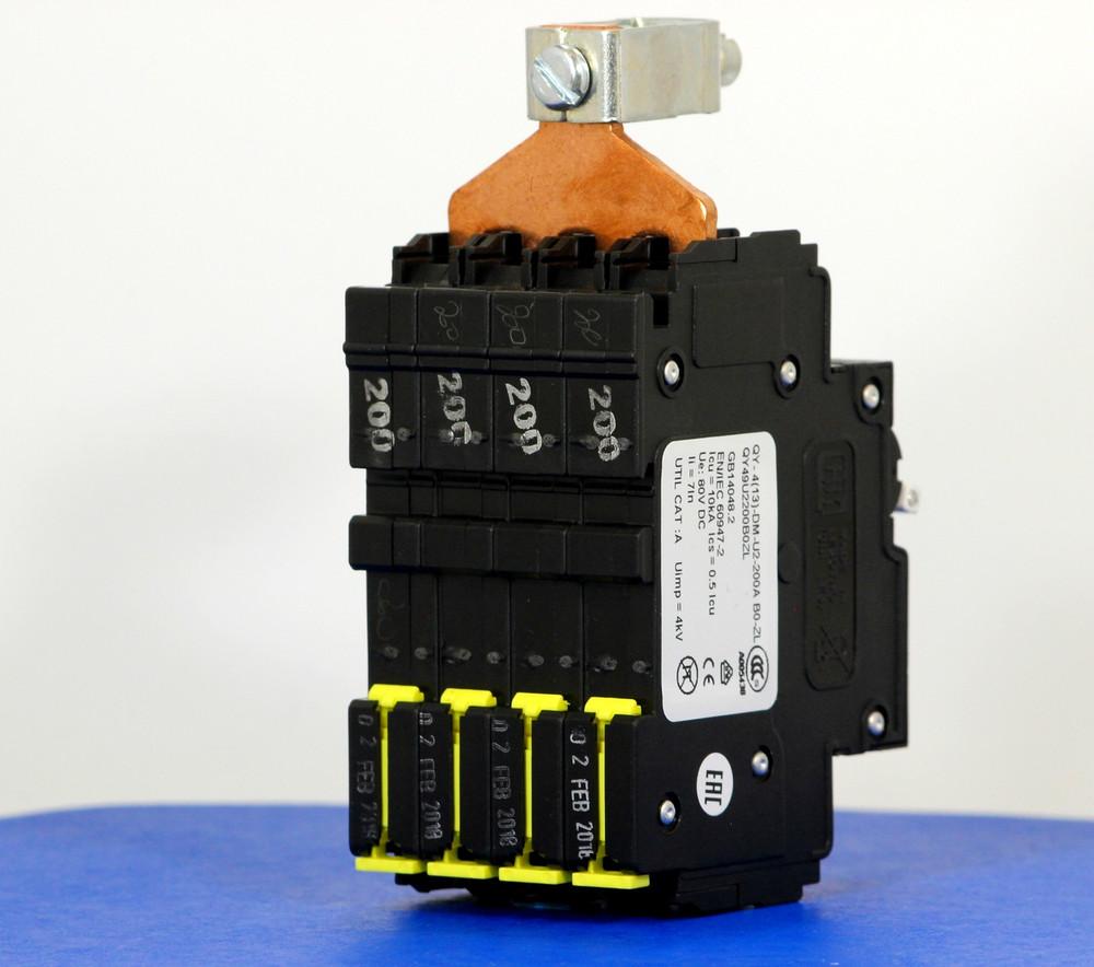 QY49U2200B0ZL (4 Pole, 200A, 80VDC, UL Listed (UL 489))
