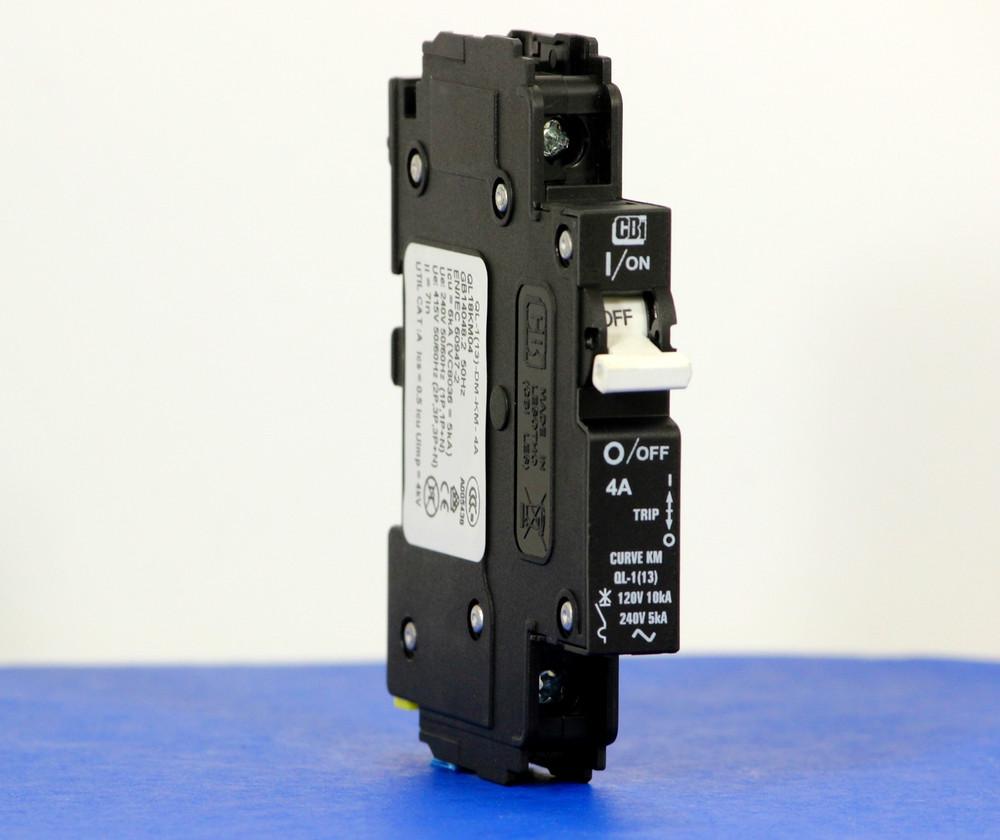 QL18KM04 (1 Pole, 4A, 120VAC; 240VAC, UL Listed (UL 489))