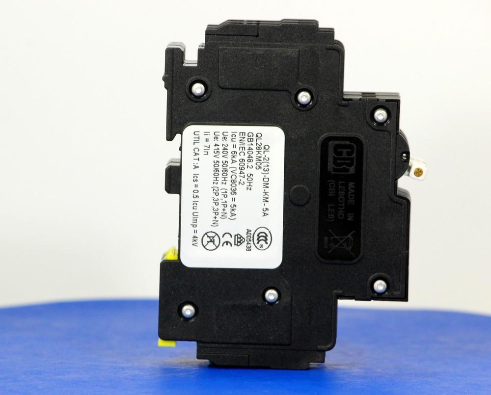QL28KM05 (2 Pole, 5A, 120/240VAC; 240VAC, UL Listed (UL 489))