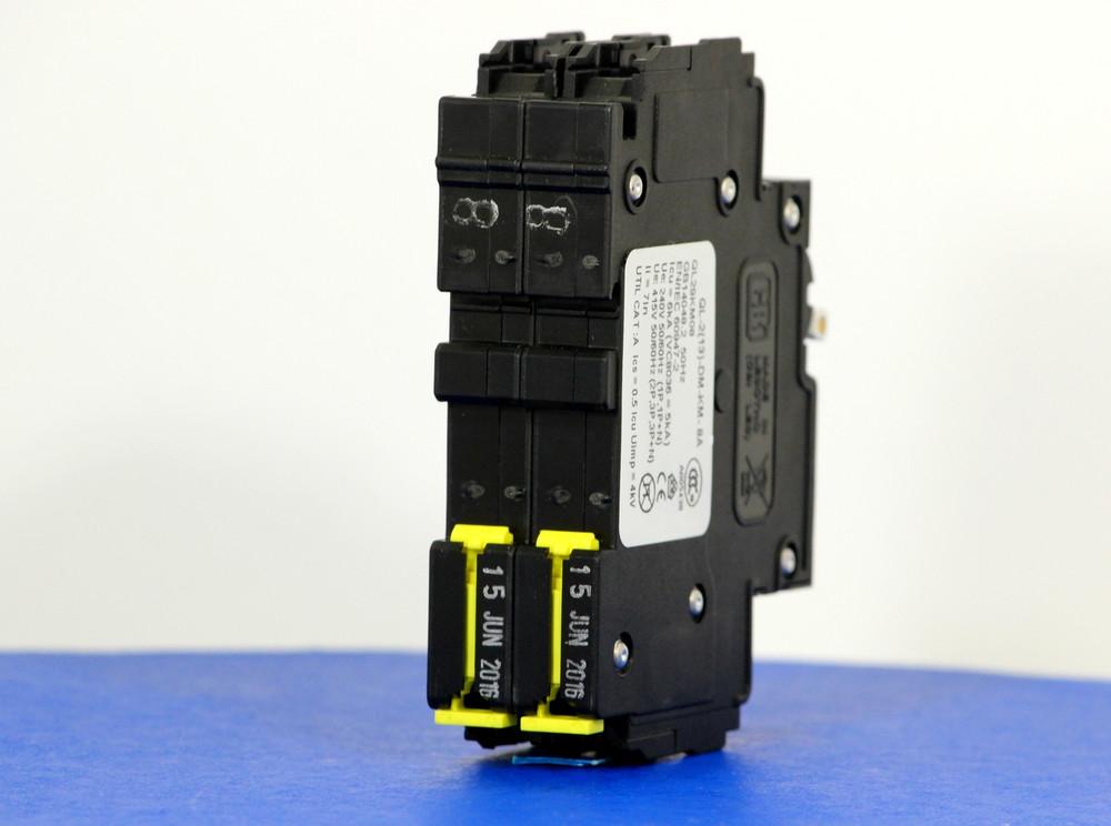 QL29KM08 (2 Pole, 8A, 120/240VAC; 240VAC, UL Listed (UL 489))