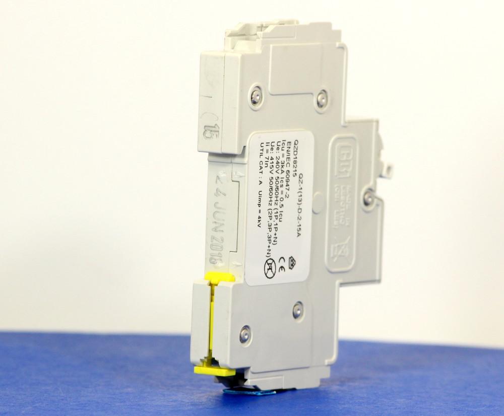 QZD18215 (1 Pole, 15A, 277VAC, UL Recognized (UL 1077))