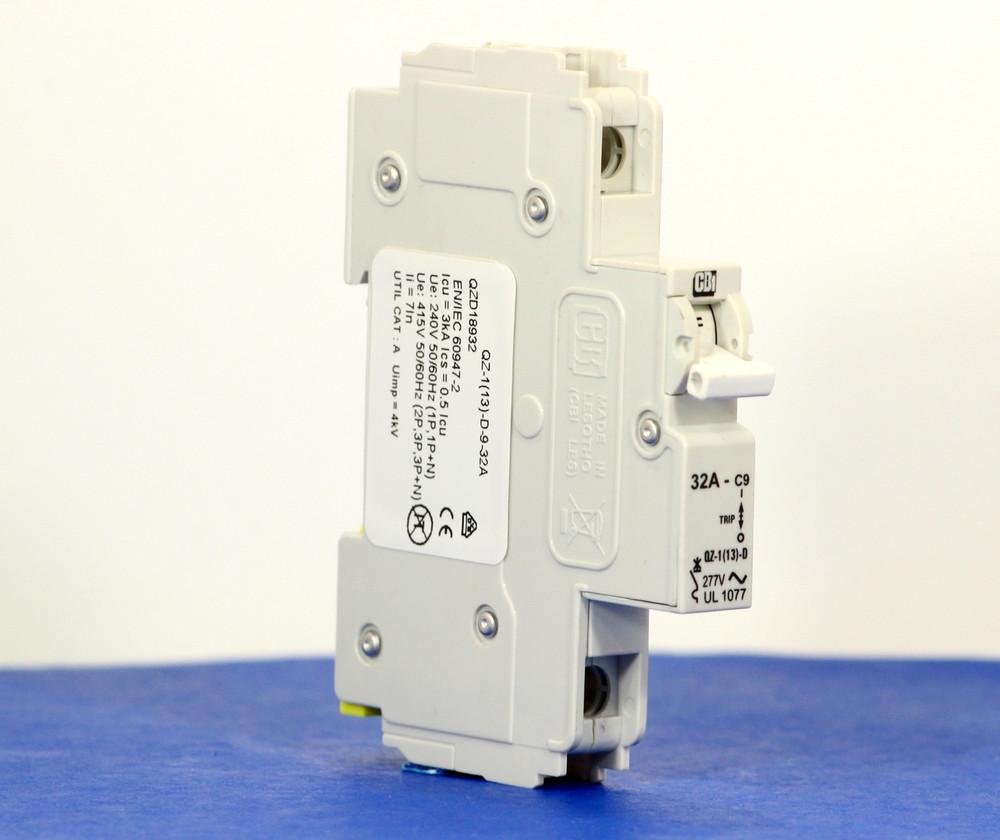 QZD18932 (1 Pole, 32A, 277VAC, UL Recognized (UL 1077))