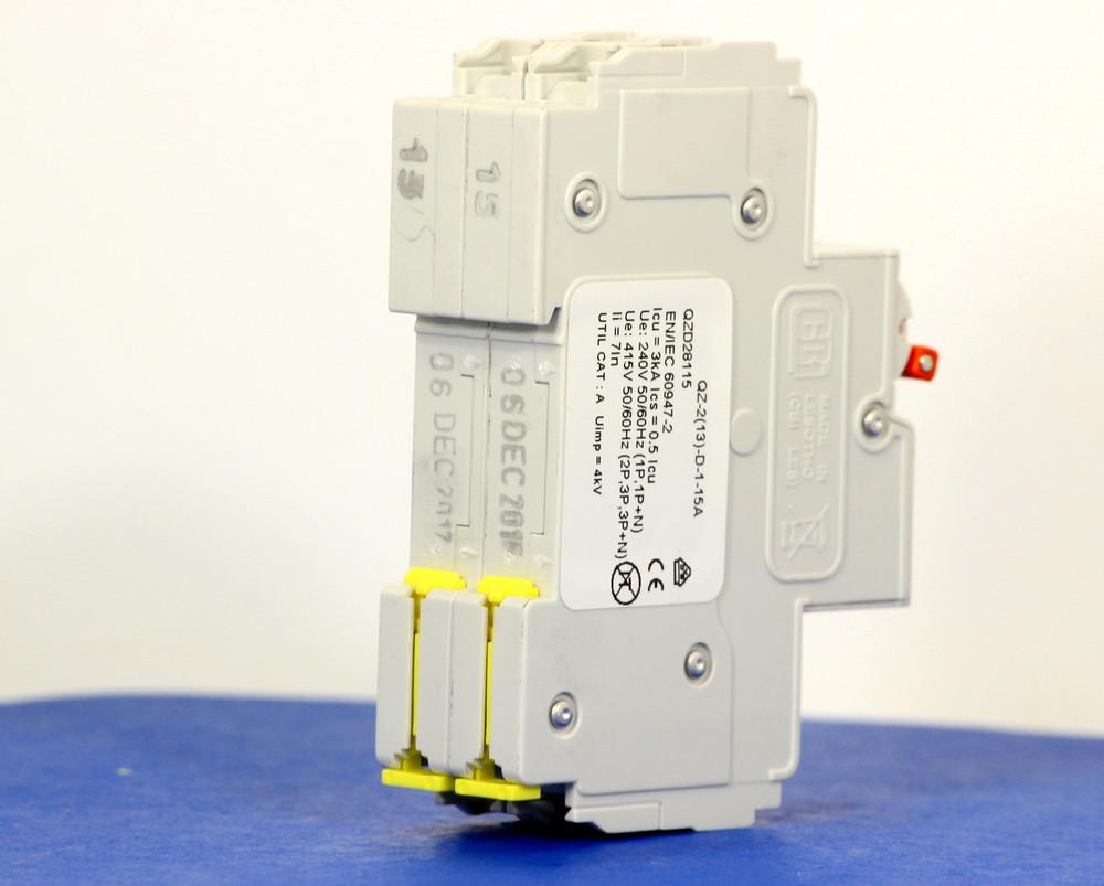 QZD28115 (2 Pole, 15A, 277/480VAC, UL Recognized (UL 1077))