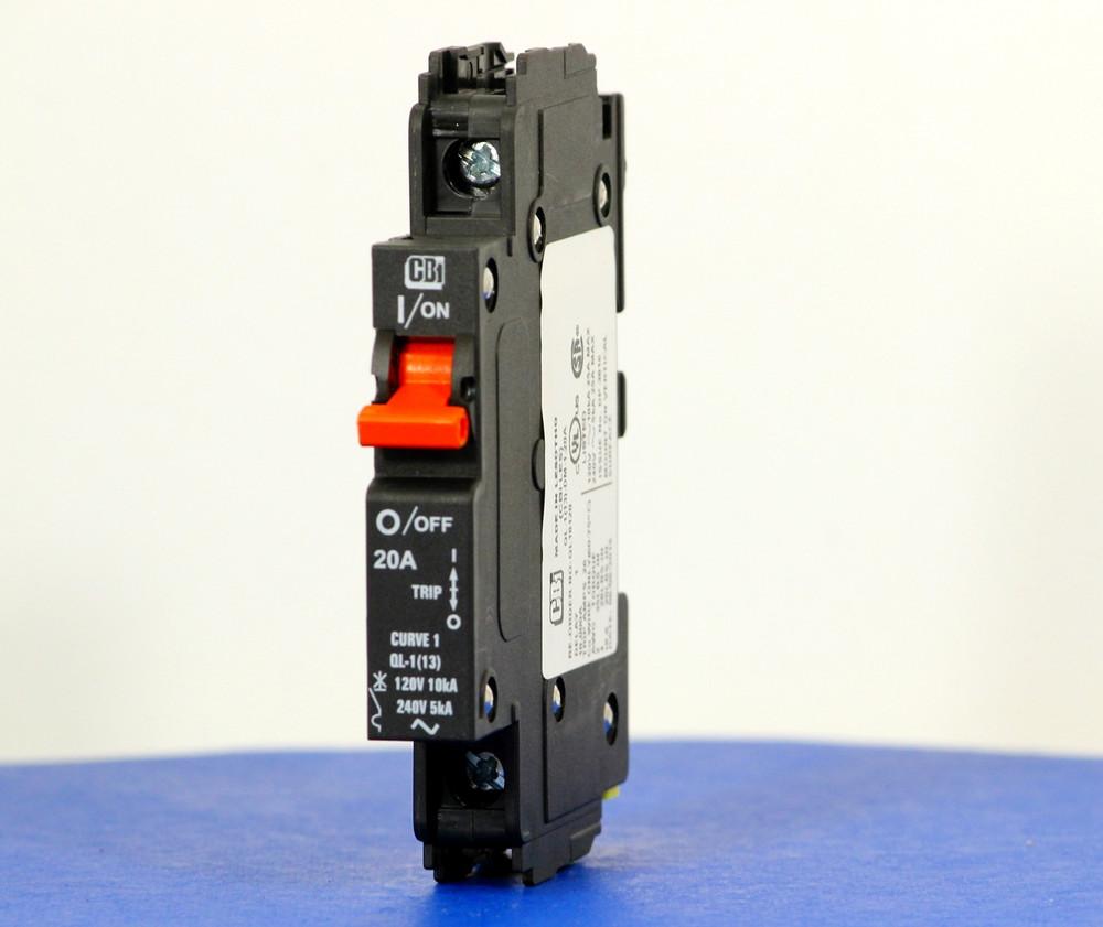 QL18120 (1 Pole, 20A, 120VAC; 240VAC, UL Listed (UL 489))
