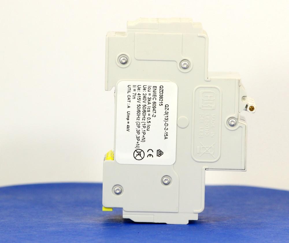 QZD38215 (3 Pole, 15A, 277/480VAC, UL Recognized (UL 1077))