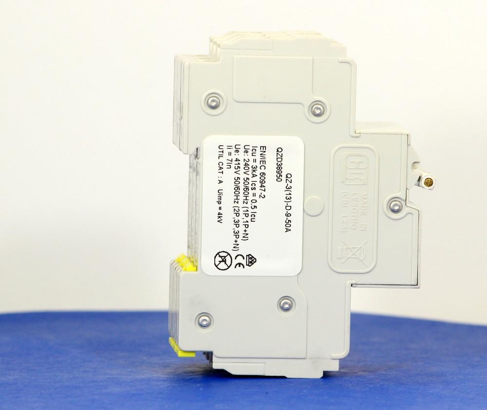 QZD38950 (3 Pole, 50A, 277/480VAC, UL Recognized (UL 1077))