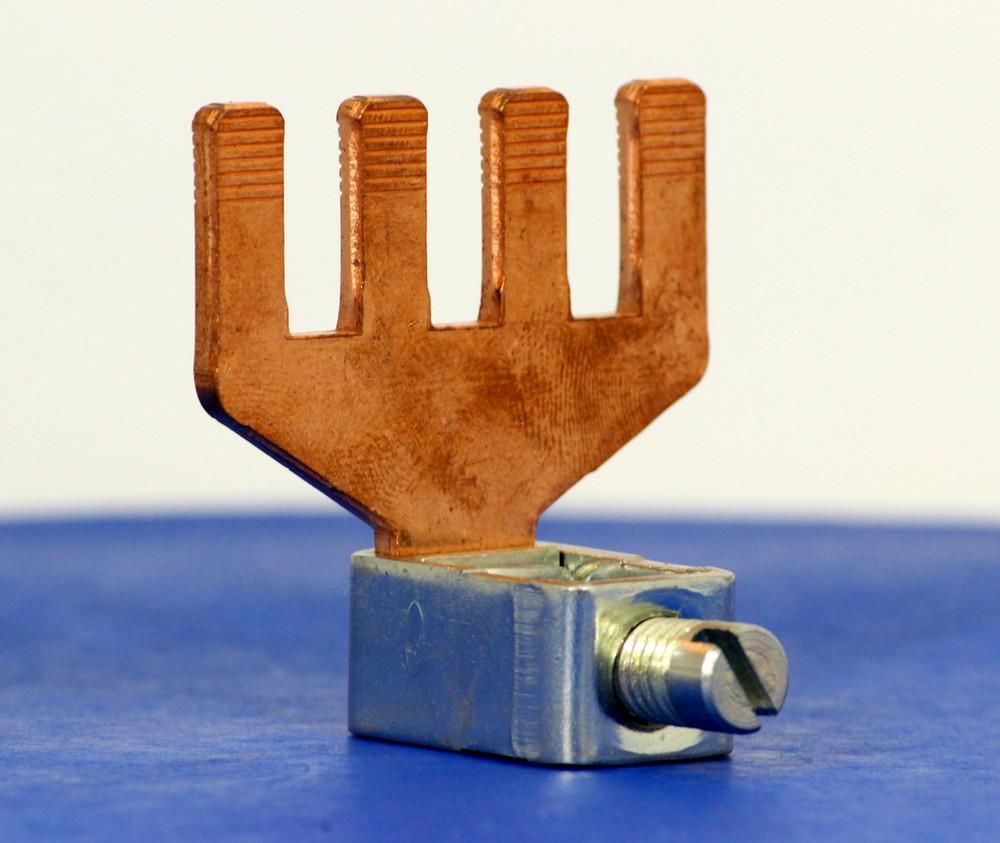 3191003 (4 Pole Copper Bridge, 95 mm² box term, (WG 3/0))