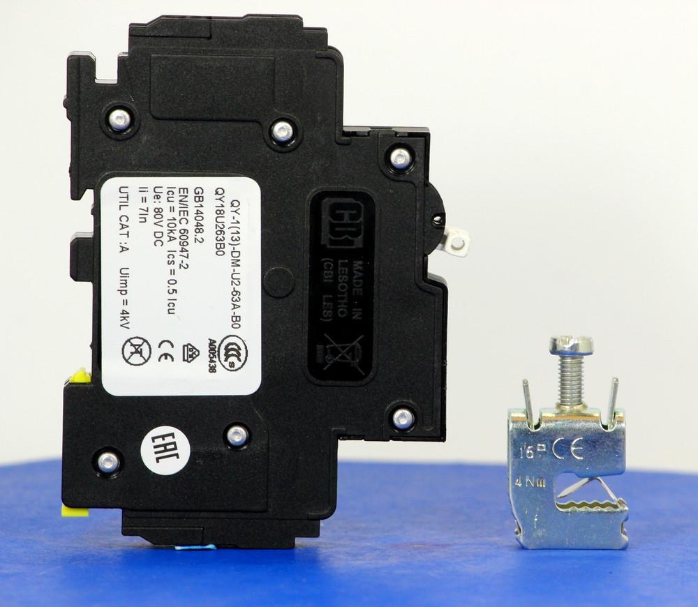 Qkit63A01 (Telecom Kit 3799253400 Breaker + Clamp)
