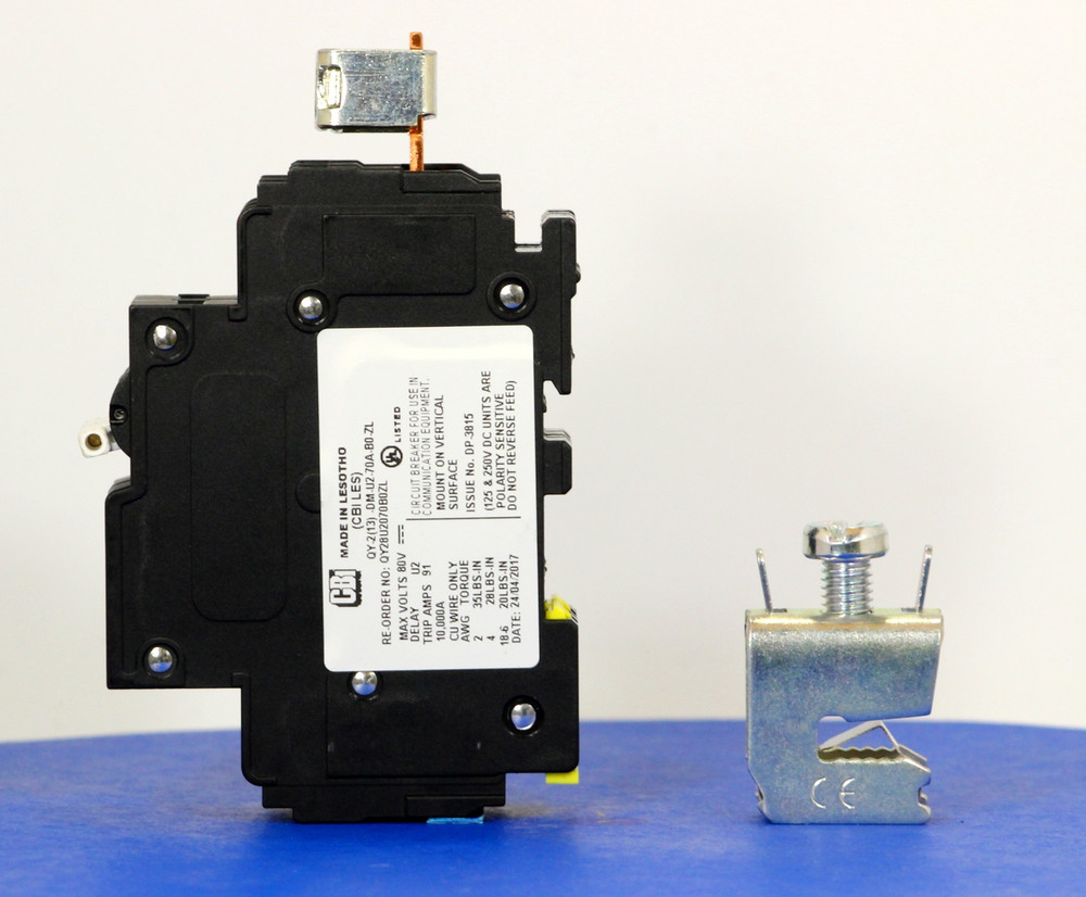 Qkit70A01 (Telecom Kit 3799259000 Breaker + Clamp)