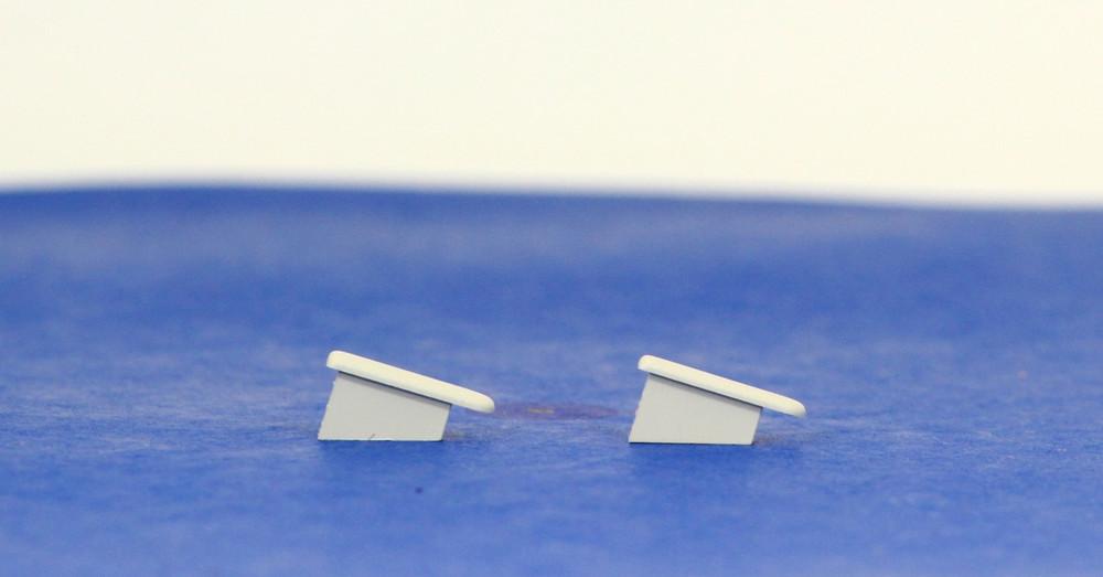 A11 Endcaps (Set = 2 Endcaps) for CBI 1 Pole Busbar Q1233L