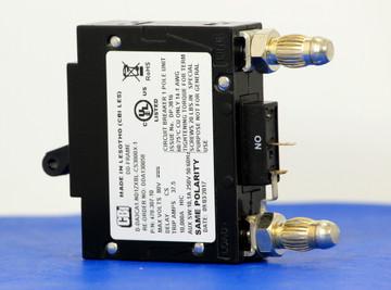DDA130058 (1 Pole, 30A, 80VDC, Plug-In Terminals, Series Mid-Trip w/alarm, UL Listed (UL 489))